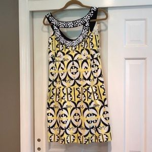 Beaded Neckline Nanette Lepore Dress